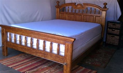Craigslist Bed Frames Oak Bed Frame Craigslist Only 200 Bedroom Redo One Day