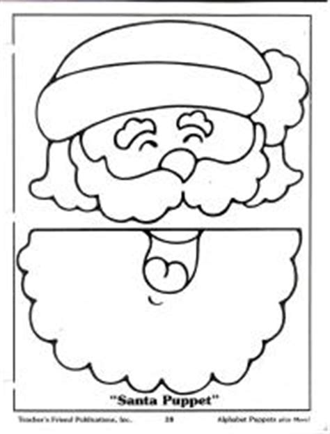 printable christmas paper bag puppets free printable santa paper bag puppet sketch coloring page