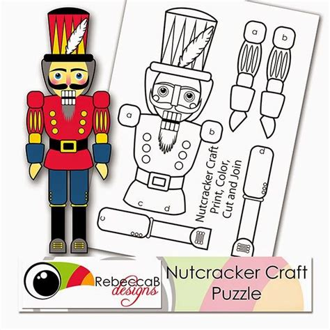 nutcracker template 1000 ideas about nutcracker crafts on