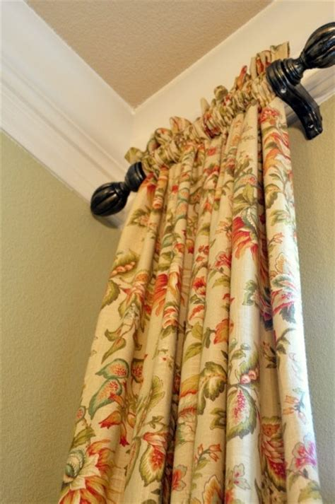 narrow curtain rods melissa s heart and home january 2012 sun room a