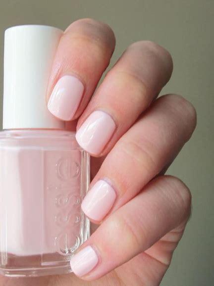 Wedding Day Nail Polish: Essie ?Angel Food?   Nails   Pink