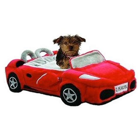car dog bed furrari sports car dog bed red novelty dog beds at