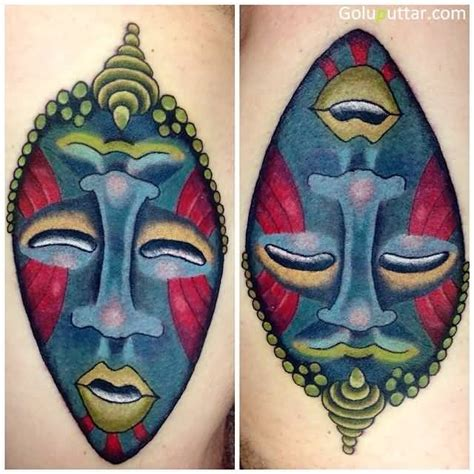 african mask tattoo designs mask tattoos and photo ideas