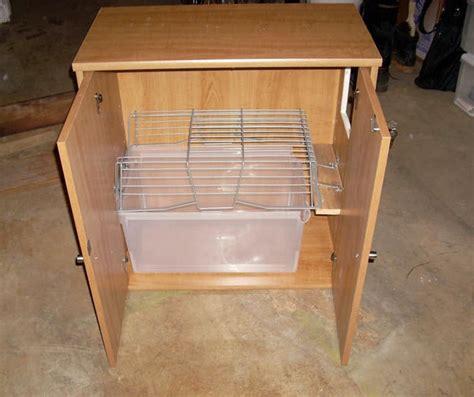 diy litter box cabinet diy storage cabinet litter box petdiys