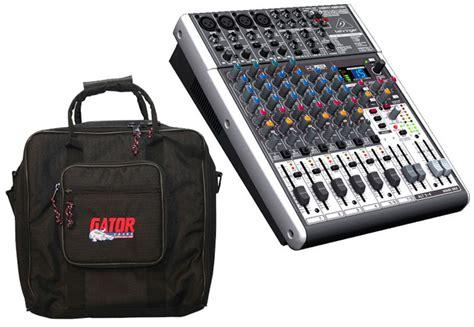Mixer Behringer Xenyx X1204usb behringer x1204usb pro audio dj xenyx 12 channel usb fx stereo mixer gator cases g mix b 1515