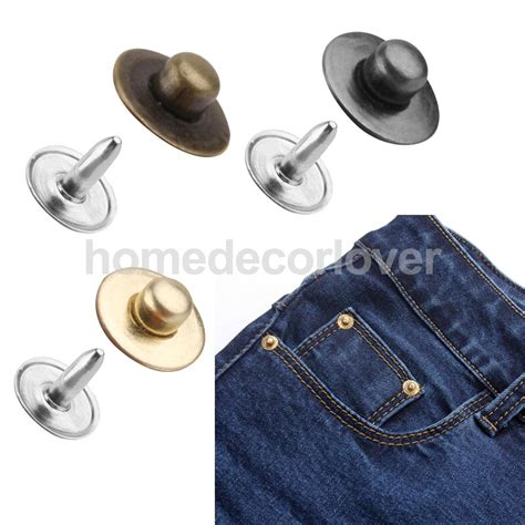 Product Free Bag Matras 8mm Matt 8mm 100set rivet fasteners studs button sewing leather craft