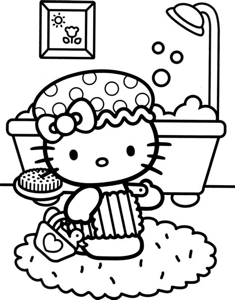 hello kitty cat coloring pages 1000 images about coloring pages of epicness on pinterest