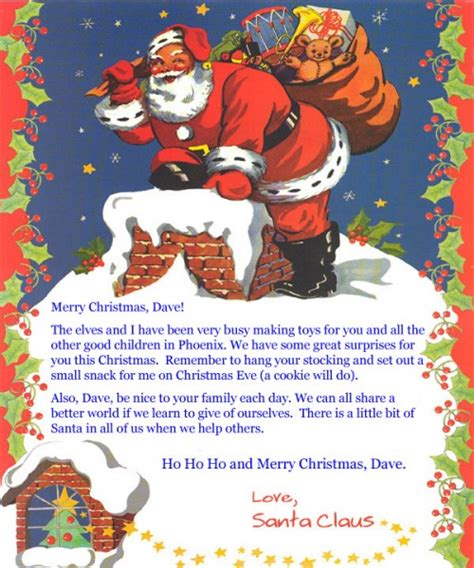 personalized letter from santa letter from santa claus personalizeabookforme