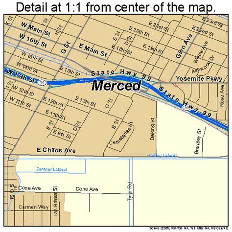 california map merced merced california map 0646898