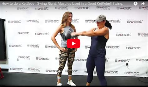 Kettlebell Swing Benefits by How To Do A Kettlebell Swing Right Benefits Of The