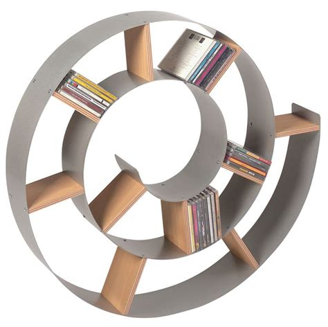 spiral bookcase interior design