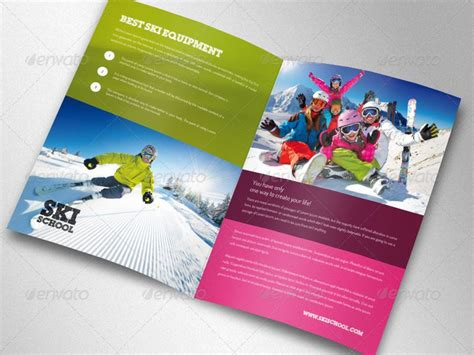 desain brosur photoshop 17 brosur sekolah contoh desain template download