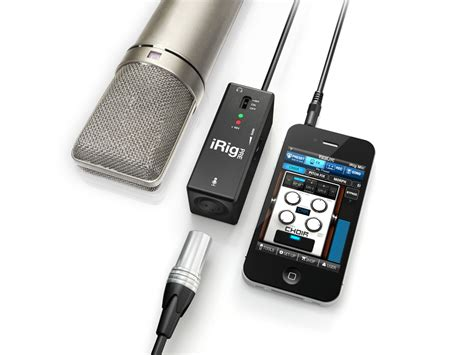 Irig Mic Ik Multimedia Original ik multimedia irig pre microphone interface for iphone ipod touch and compass