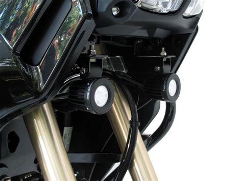 motorcycle led auxiliary lights denali led motorcycle auxiliary lighting from twisted