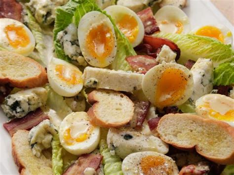 egg salad ina garten caesar salad with blue cheese and bacon recipe ina