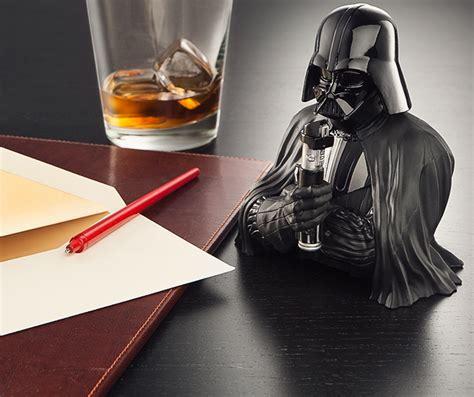 Exclusive T Shirt Starwars Darth Vader Mdiv Black Gold Foil wars darth vader pen holder exclusive thinkgeek