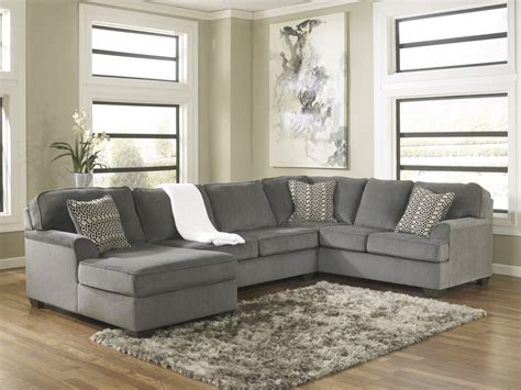 Loric Sectional With Chaise National Furniture Liquidators