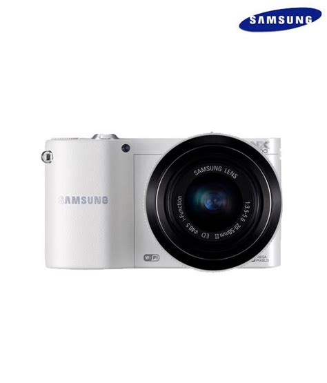 Kamera Mirrorless Samsung Nx1000 samsung nx1000 mirrorless with 20 50mm lens price in india