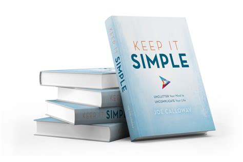 is simple books books joe calloway