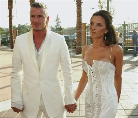 Posh And Becks Freaking Us Out by Posh And Becks Style Files As The Beckhams Celebrate