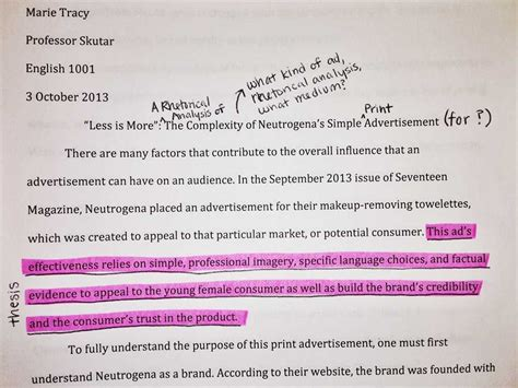 advertisement essay thesis ad analysis essay essays on