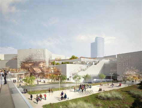 home design concept lyon giant green roof to top mvrdv s redesign of lyon s iconic part dieu mall inhabitat green