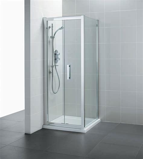 Shower Door 1000mm Ideal Standard Synergy Infold Shower Door 1000mm L6209eo