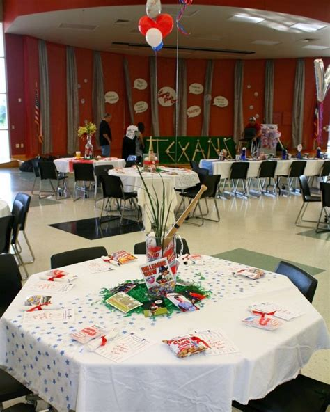 banquet table centerpieces 17 best images about baseball banquet on