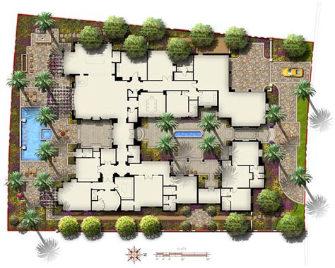 plan view ramon swaim design illustration