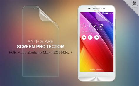 Indoscreen Anti Asus Zenfone Max Zc550kl Clear nillkin matte scratch resistant protective for asus