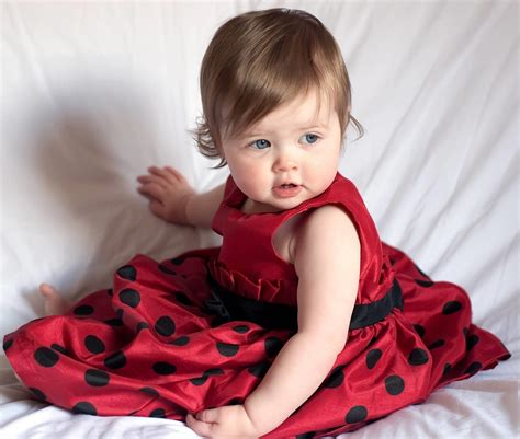 Who Is The Cutest Baby by Cutest Baby Frock Laughspark