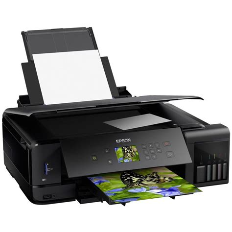 Printer A3 epson ecotank et 7750 a3 colour multifunction inkjet printer c11cg16401ce