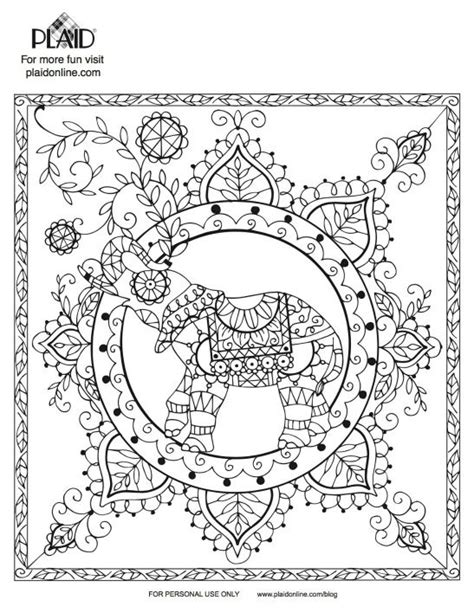 stress relief coloring pages elephant 92 best elephants images on pinterest coloring books