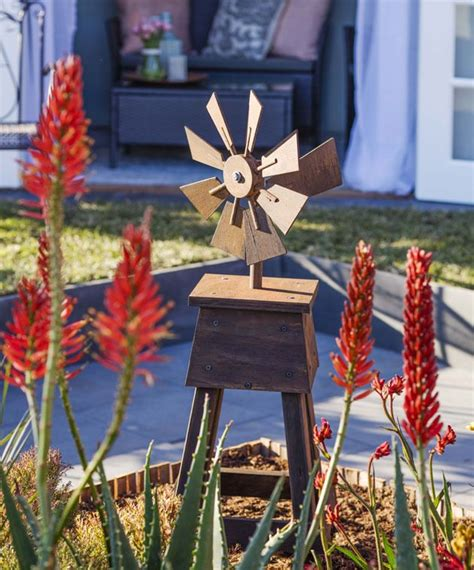 decorative windmills for homes