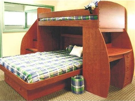 twin over full bunk bed with desk sierra twin over full l shaped bunk bed with desk and