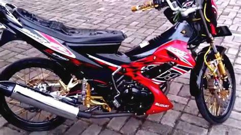 Alarm Motor Satria Fu gambar modifikasi suzuki satria fu foto motor satria fu