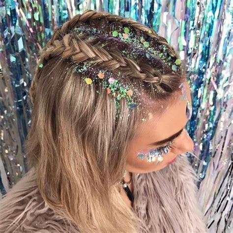 hairstyle ideas for raves festival hair
