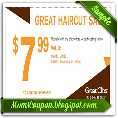 haircut coupons in phoenix walmart haircut coupon nov 2015 great clips coupons
