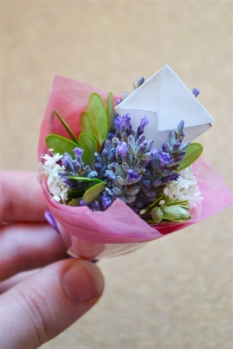 diy miniature bouquets     bouquet