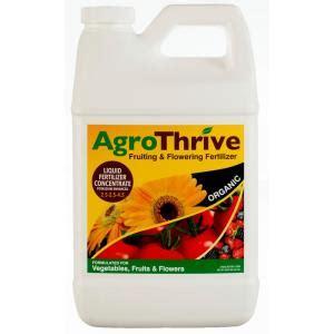 agrothrive  oz fruiting  flowering organic liquid