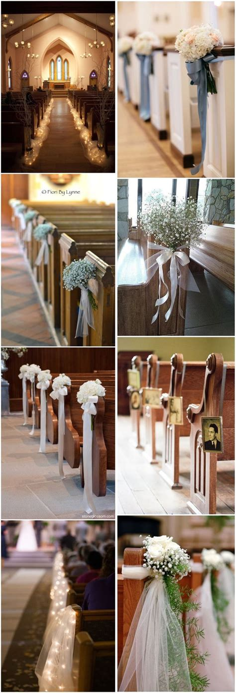 Wedding Aisle Decorations Nz by 25 Unique Church Decorations Ideas On