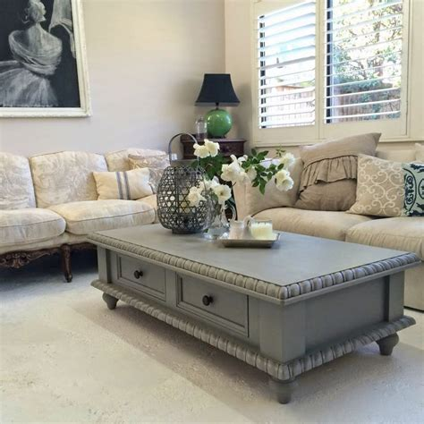 pine coffee table makeover paint ascp frenchlinen diy furniture pine coffee