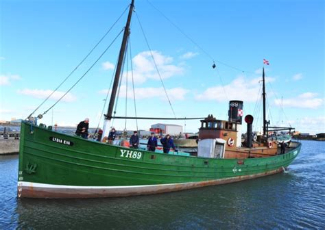 latest fishing boats for sale uk skipper needed to help sail historic norfolk fishing boat