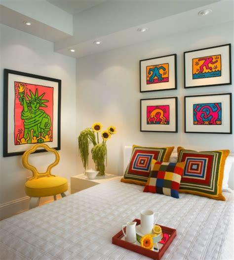 schlafzimmer 60er stil pop merkmale im innendesign einrichtungsideen im