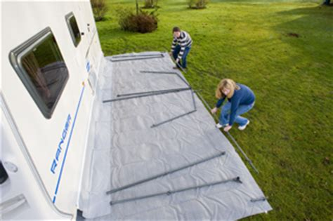 how to erect a caravan awning how to put up a full awning advice practical caravan