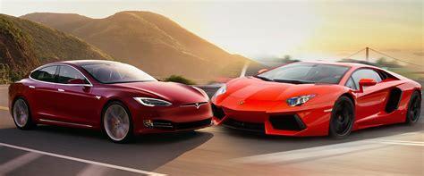 lamborghini aventador vs tesla roadster lamborgini aventador vs tesla model s p100d which is best