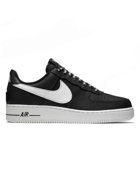 compra ya las nike air force   nba en negro  blanco