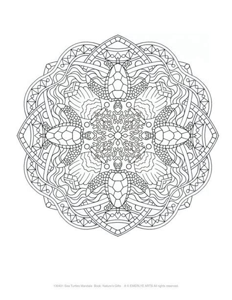 nature mandalas coloring book pdf 17 best images about coloring pages on