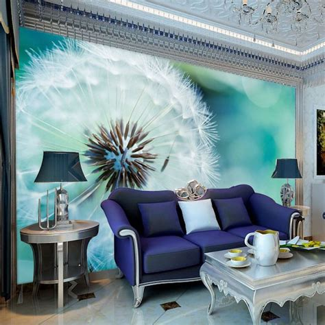 customized size wall paper  effect wallpaper mural tv