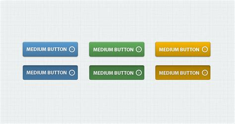 css how to make rollover buttons event button web buttons classic psd web buttons vol 1 psd web elements pixeden